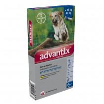 Advantix 400/2000 Spot-on &gt 25kg 6 pipetten