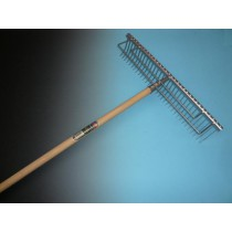 Grashark 60cm breed met steel 170x2,8cm