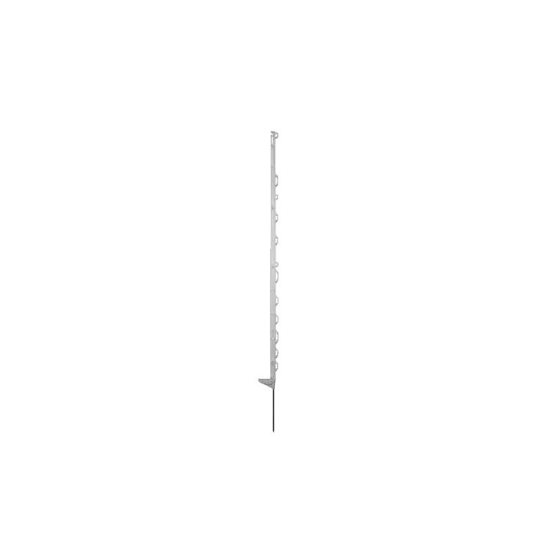SMART paal wit 145cm met 13 ogen