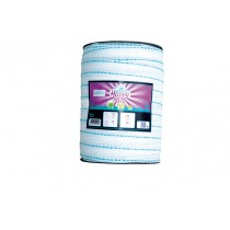 Lint happy TLD T40 wit/turquoise