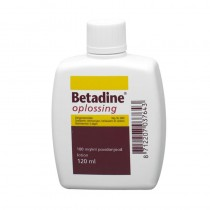 Betadine oplossing 120 ml