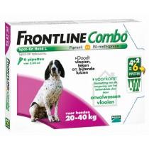 Frontline Combo hond L 20-40 kg 6 pipetten