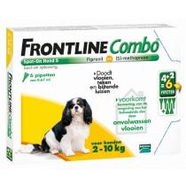 Frontline Combo hond S 2-10 kg 6 pipetten