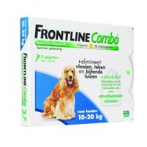 Frontline Combo hond M 10-20 kg 3 pipetten