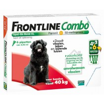Frontline Combo hond XL &gt40 kg 6 pipetten