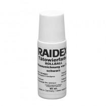Tatoeëerpasta Raidex zwart rollball