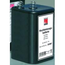 Blokbatterij 6V 7 Ah (4R25)