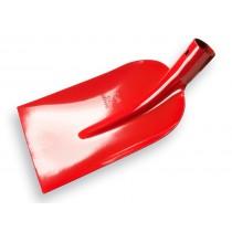 Betonschop, rood gelakt, gehard