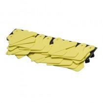 Allflex Junior-Junior geel onbedrukt (100)